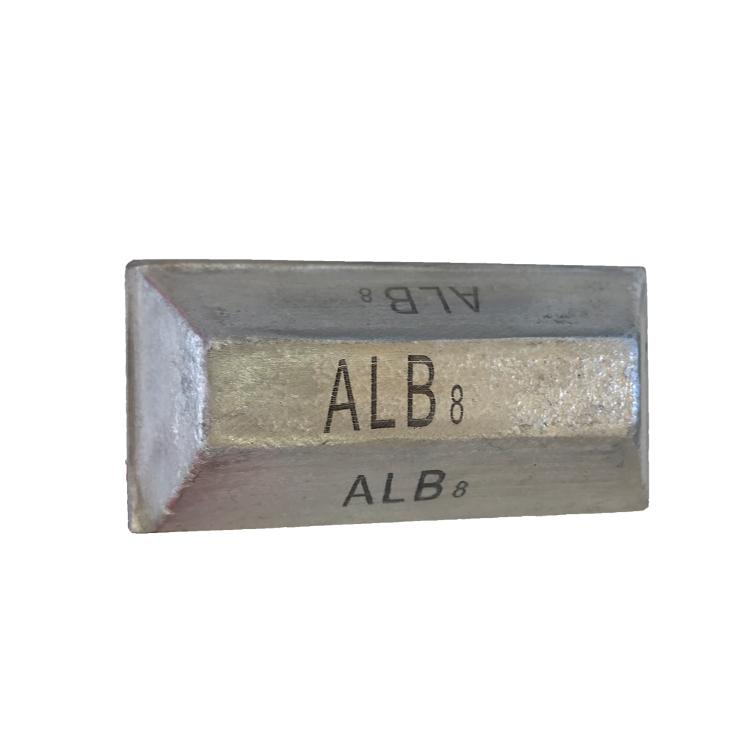 Aluminum boron master alloy AlB8