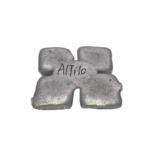 AlTi10 ingot Aluminium titanium nwe alloy