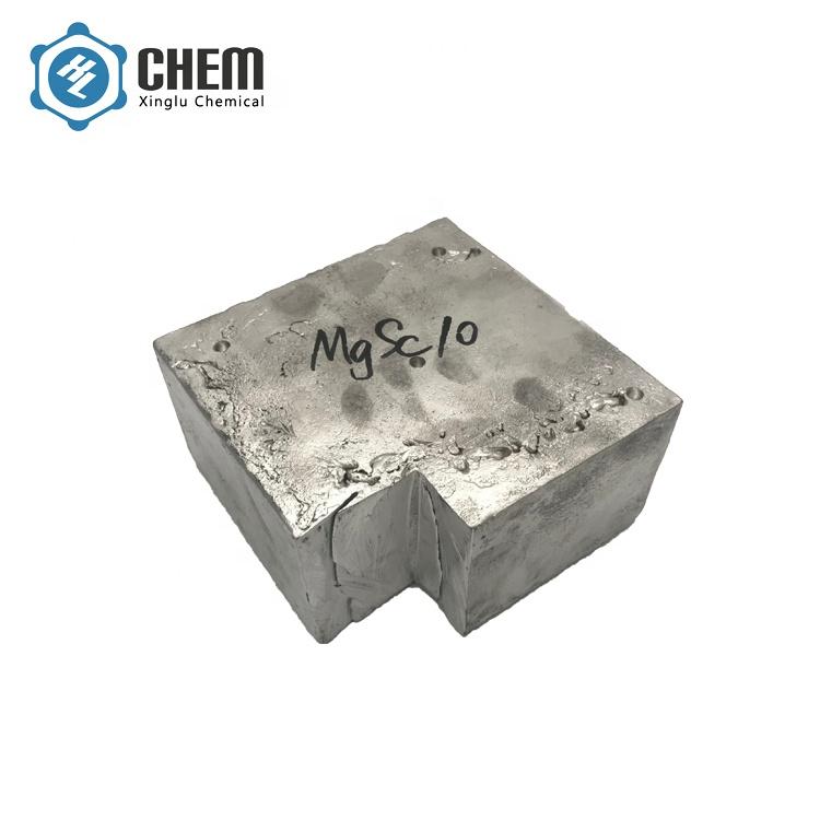 Magnesium Scandium Master Alloy MgSc30 MgSc20 MgSc25